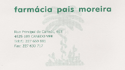 FARMÁCIA PAIS MOREIRA