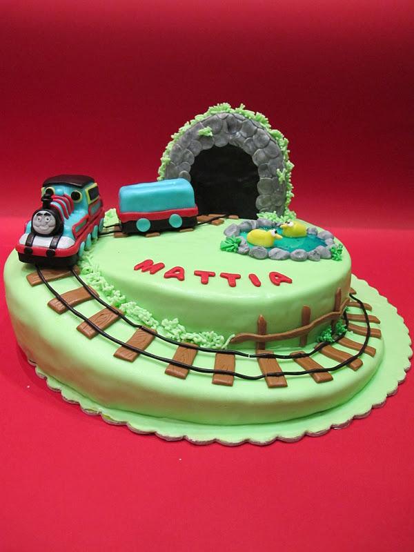 Cake Design Trenino Thomas : SKACCIA KITCHEN: Trenino Thomas Cake