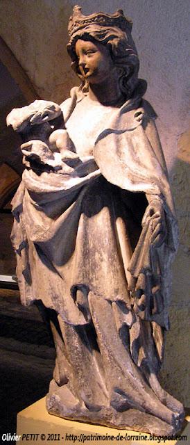 Vierge à l'Enfant. Fin XIVe-début XVe siècle.