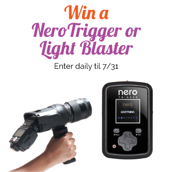 Enter the Light Blaster Giveaway. Ends 7/31.