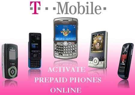 Activate T-mobile Prepaid Phone Online on T-mobile.com/prepaidactivation