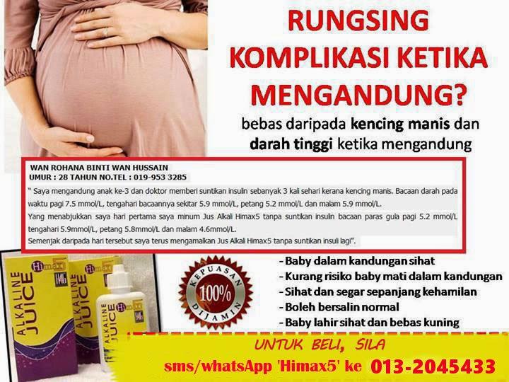ubat darah tinggi semasa hamil