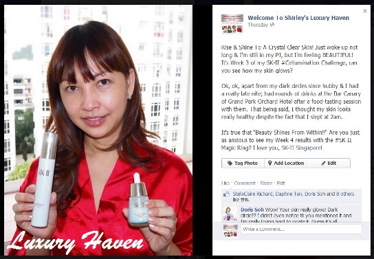 skii cellumination blogger challenge luxury haven facebook