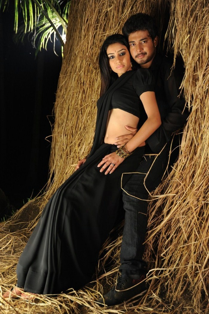 Actor And Actress From Movie Kodipunju Without Exposing Much