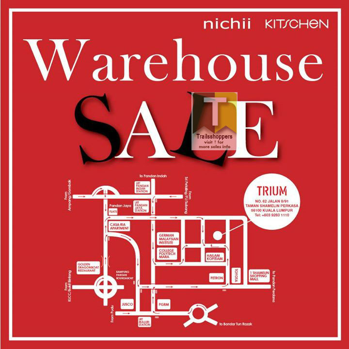 Nichii Kitschen Warehouse Sale
