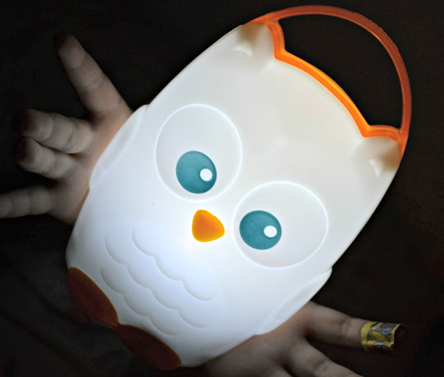 Munchkin light my way nightlight, Munchkin Owl nightlight, transitional nightlight, battery conserving nightlight