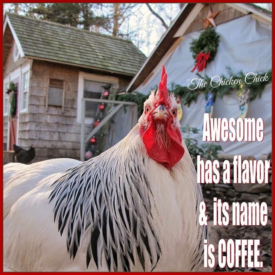 Awesome has a flavor and its name is coffee.