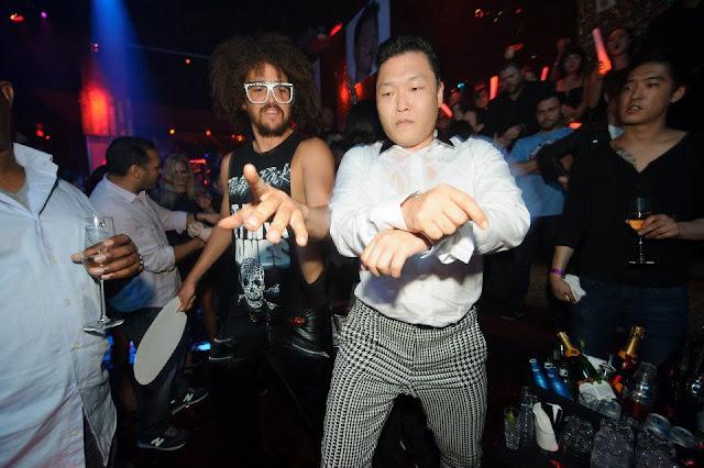 Psy & Redfoo LMFAO Di Vegas 04