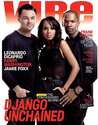 Vibe Magazine Cover With Django Unchained Cast