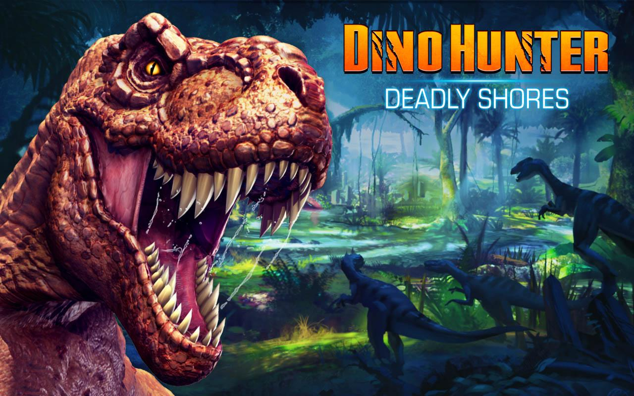 dino hunter apk mod offline money