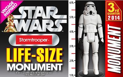 Gentle Giant Jumbo Kenner Life-Size Stormtrooper
