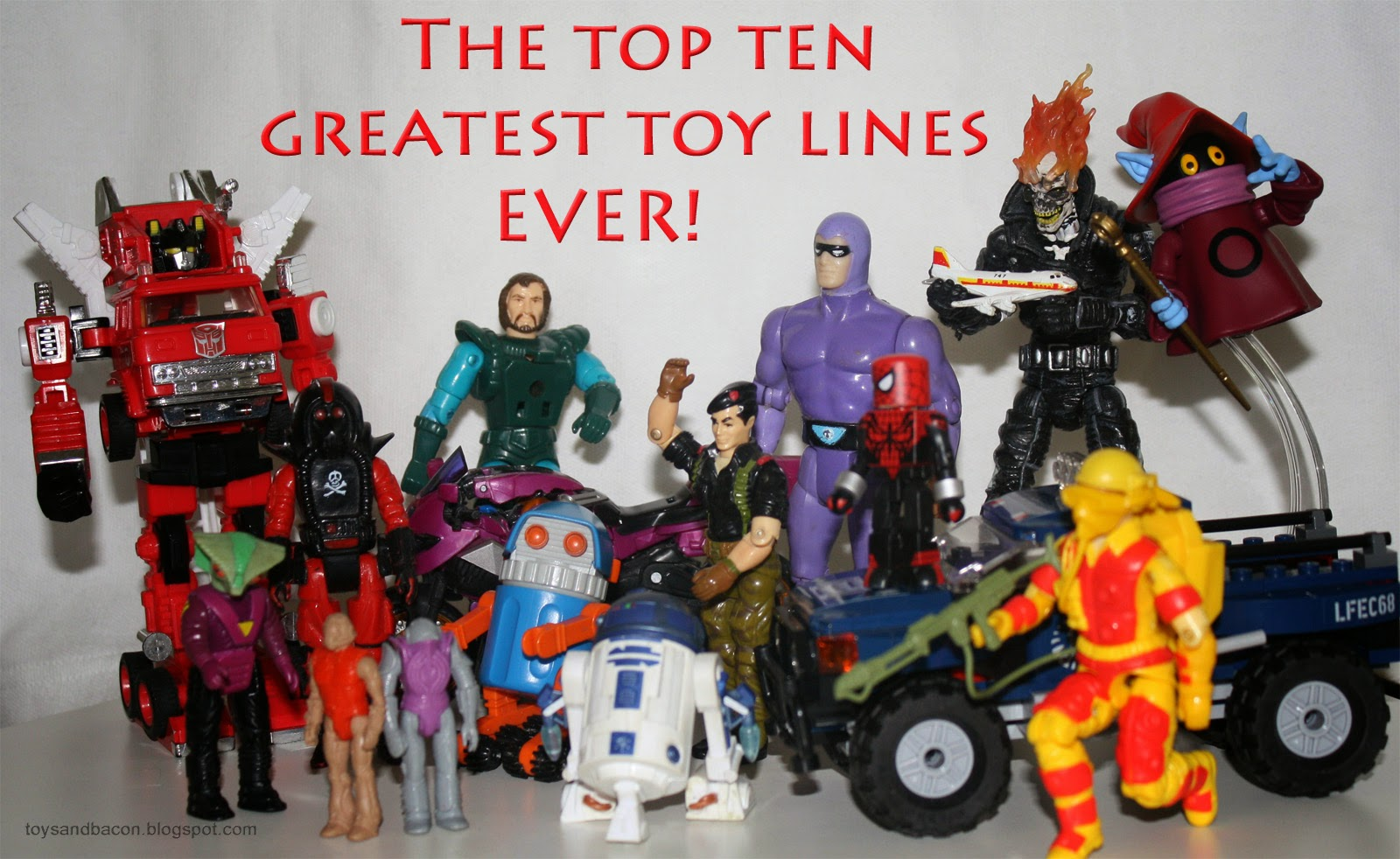 Best Toy Ever : Toys and bacon the top greatest toy lines ever tldr