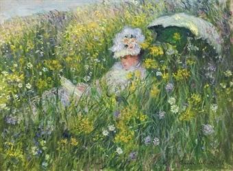Claude Monet Dans la Pranie