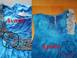 relooking t-shirt refashion