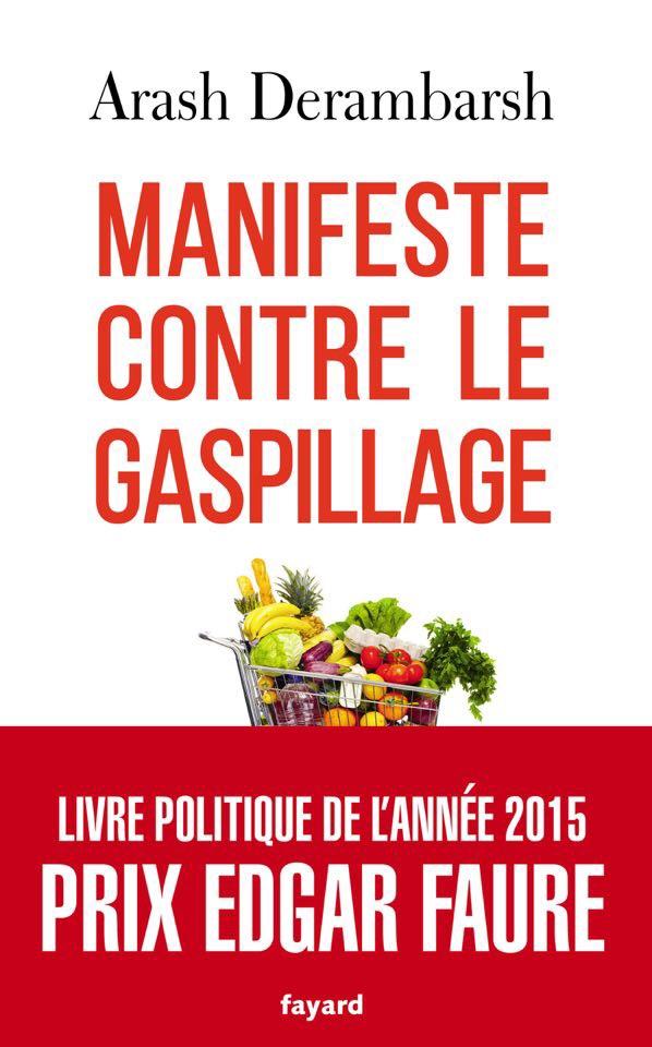 """Livre """"Manifeste contre le gaspillage"""""""