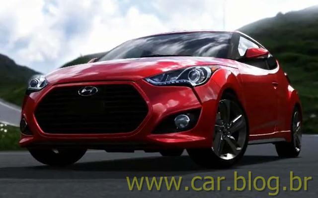 Hyundai Veloster Turbo Vermelho Frente