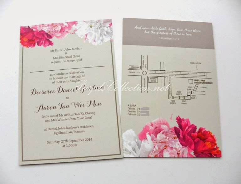 Floral wedding invitation card stopboris Choice Image
