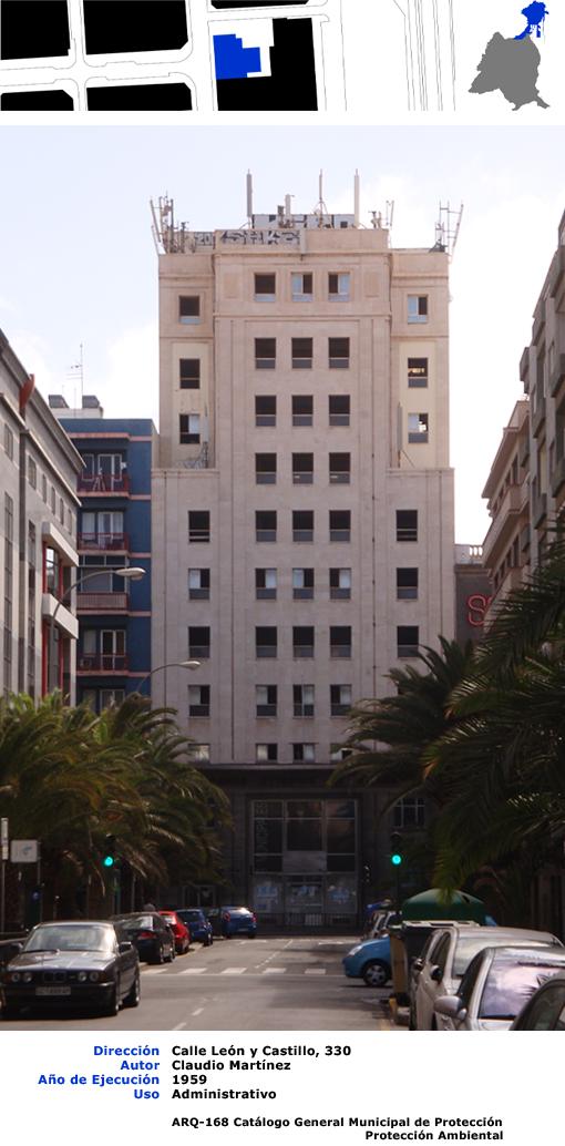 Edificios de las palmas de gran canaria banco exterior de for Banco exterior agencias