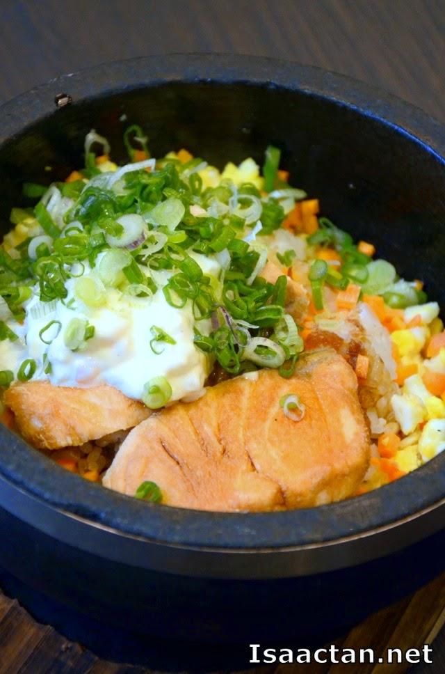 #2 Ishiyaki Chaofan (Salmon) - RM15.90