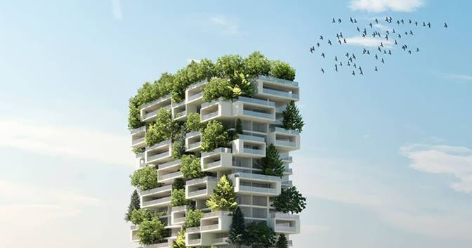 Ft Tall Apartment Tower To Be World First Building Covered In - 384ft tall apartment will be the worlds first building to be covered in evergreen trees