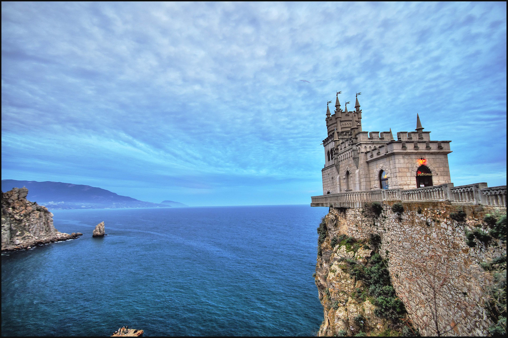The Swallow's Nest castle, Ukraine