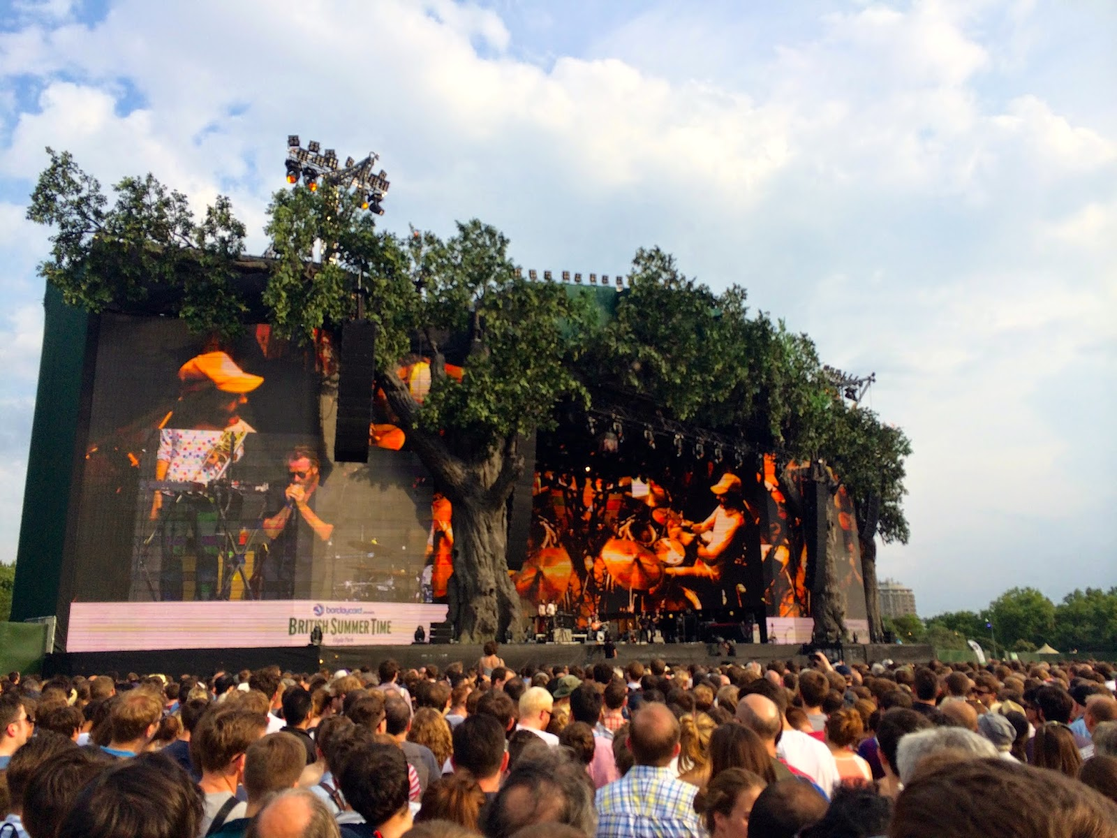 british summer time hyde park london the national