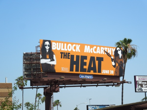 The Heat movie billboard