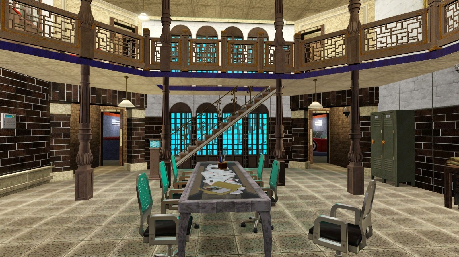 My Sims 3 Blog The Men Of Letters Bunker Supernatural By