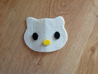 Hello Kitty notebook cover, how to