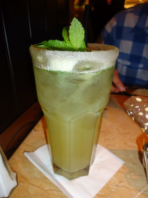 Lemon Mint Cooler at the Cheesecake Factory Dubai Mall