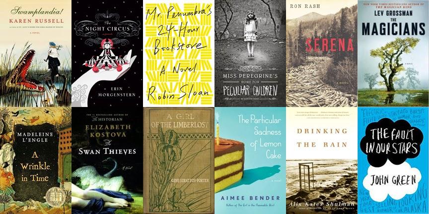 top book club books 2014