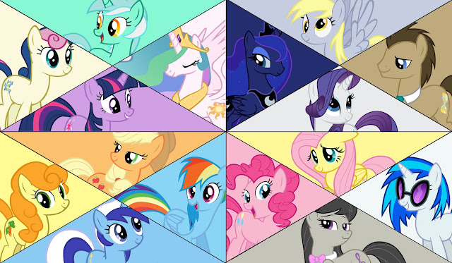 Background Ponies7