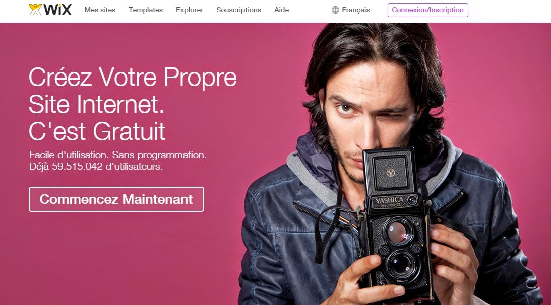 wix site gratuit avis essai experience utilisateur