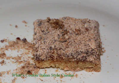 Small Sour Cream Coffee Cake For Two Recipe
