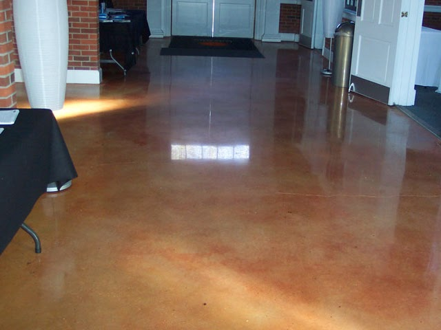 How Do You Stain Concrete : Concrete staining