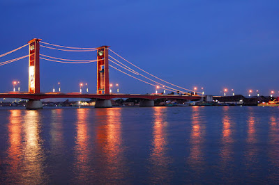Musi River Of Palembang