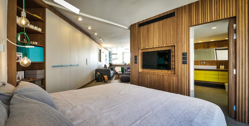 Bedroom designed by Hila Hollander