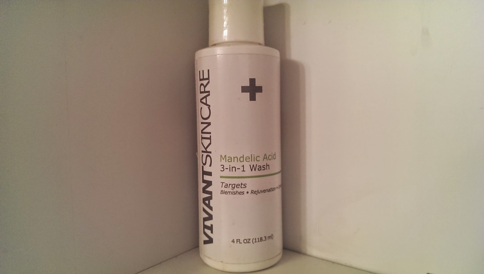 pixel Vivant Skin Care Review - Mandelic Acid 3-in-1 Wash 8oz  #Vivantskincare