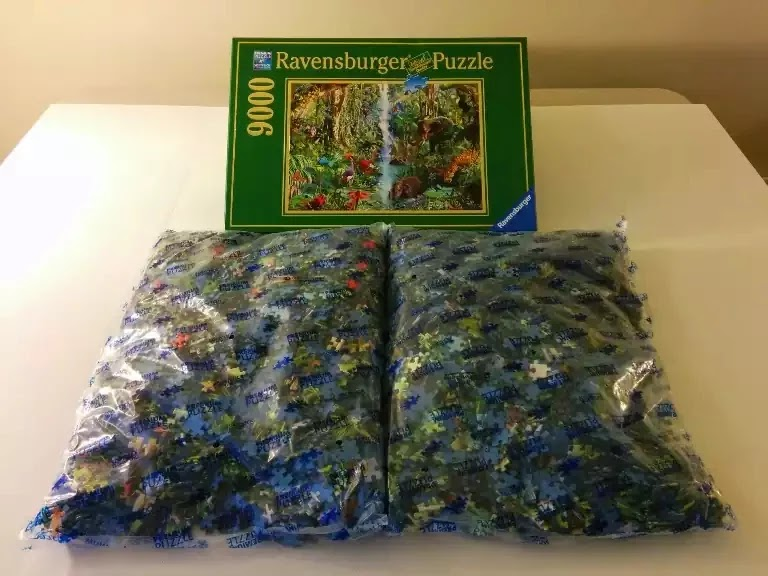 Ravensburger Jungle Animals 9000 piece jigsaw puzzle
