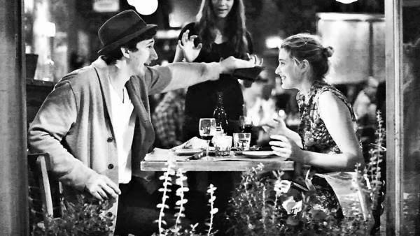 Greta Gerwig and Adam Driver in Frances Ha