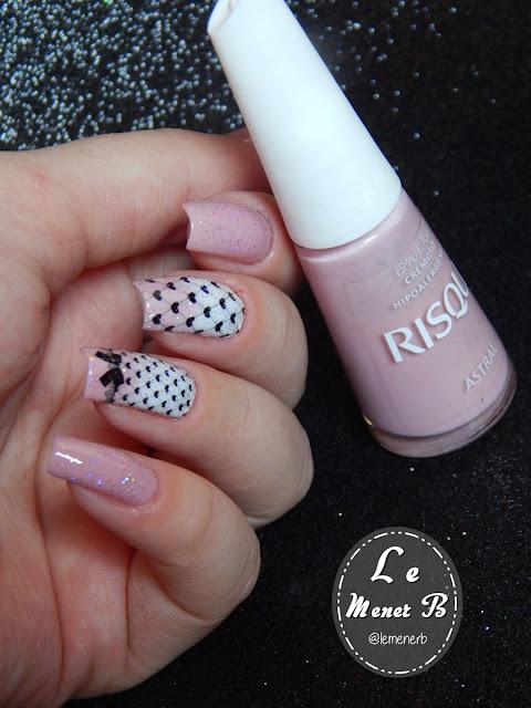 nail art corações