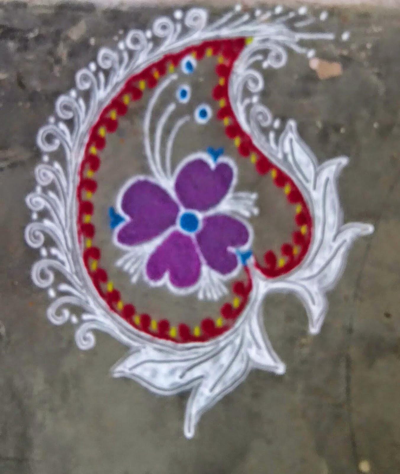 Kids Rangoli Designs 5