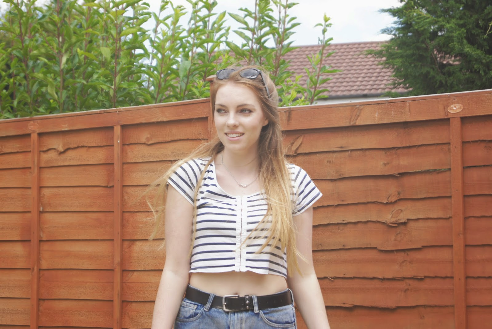 nautical crop top