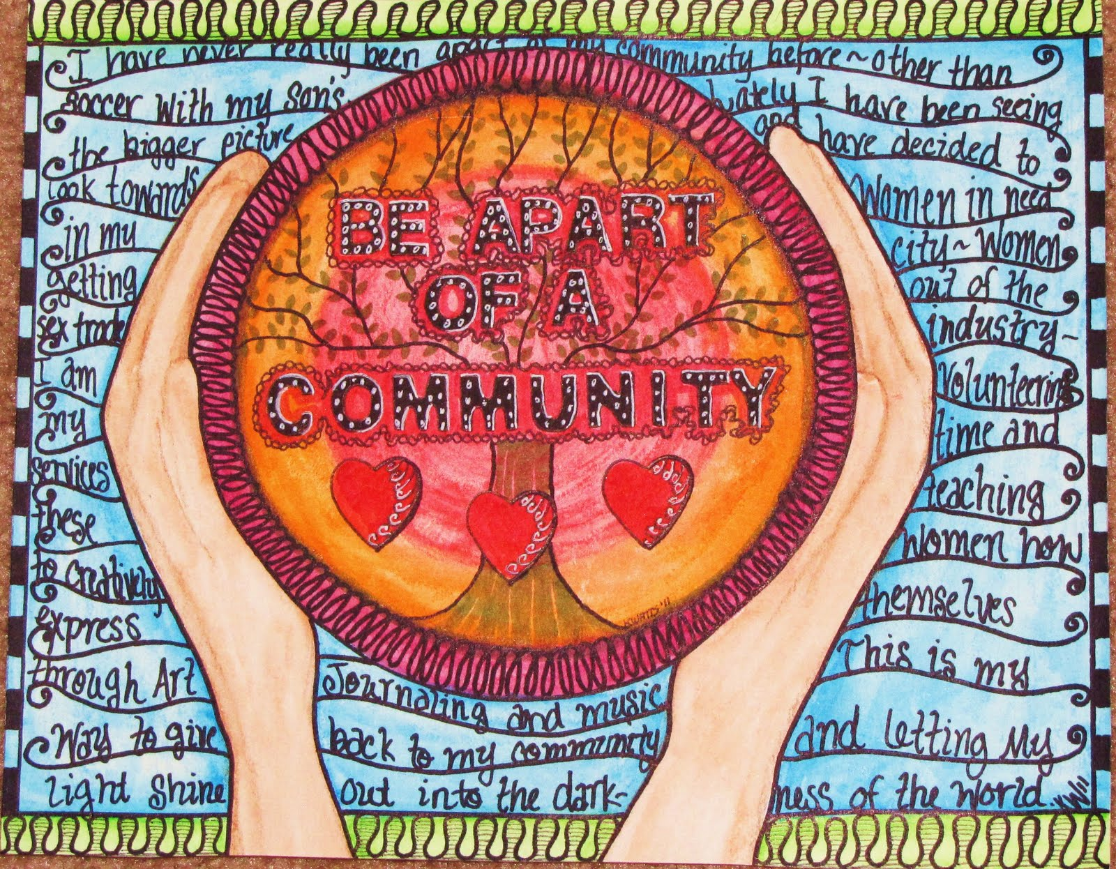 art in my community What's hot - your spot for viewing some of the best pieces on deviantart be inspired by a huge range of artwork from artists around the world.