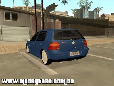 Vw Golf Flash Edit para GTA San Andreas