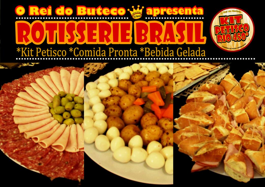 Rotisserie Brasil - Kits com Comidinha em Porção e Bebida Gelada