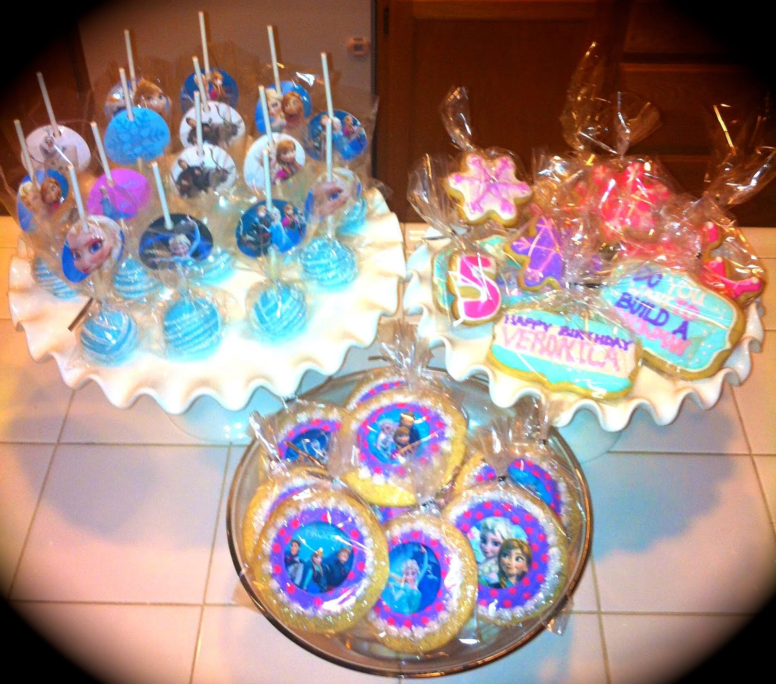 FROZEN PARTY DESSERTS