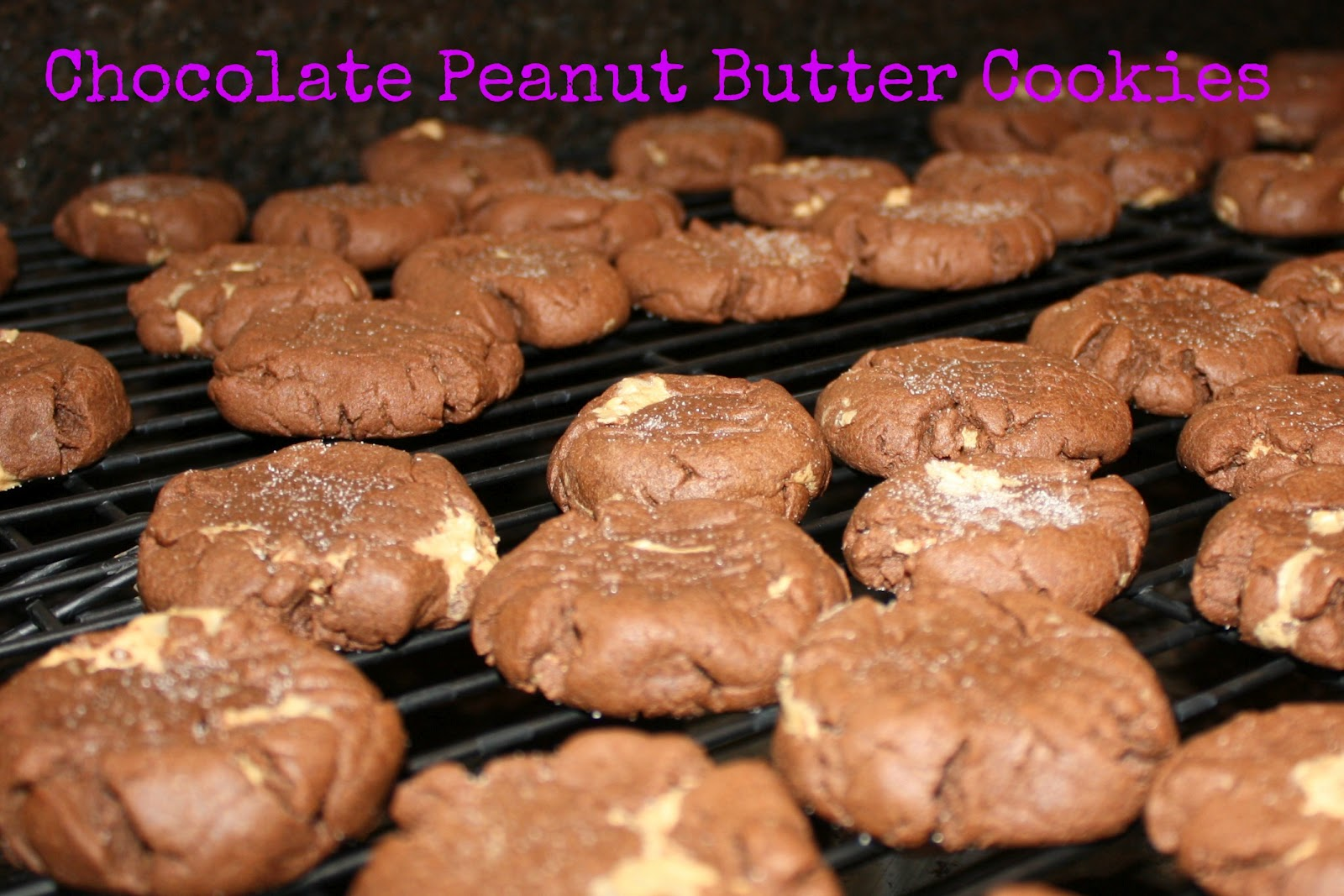 All Things Katie Marie Chocolate And Peanut Butter Cookies