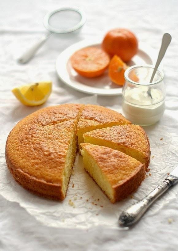 torta agli agrumi / agrumes cake