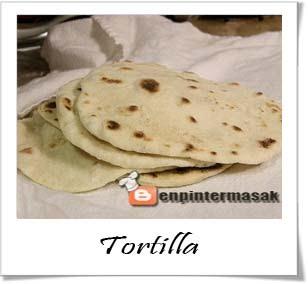 Cara Membuat Adonan Dasar Tortilla